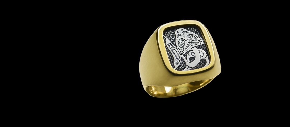 Native Art Signet Ring