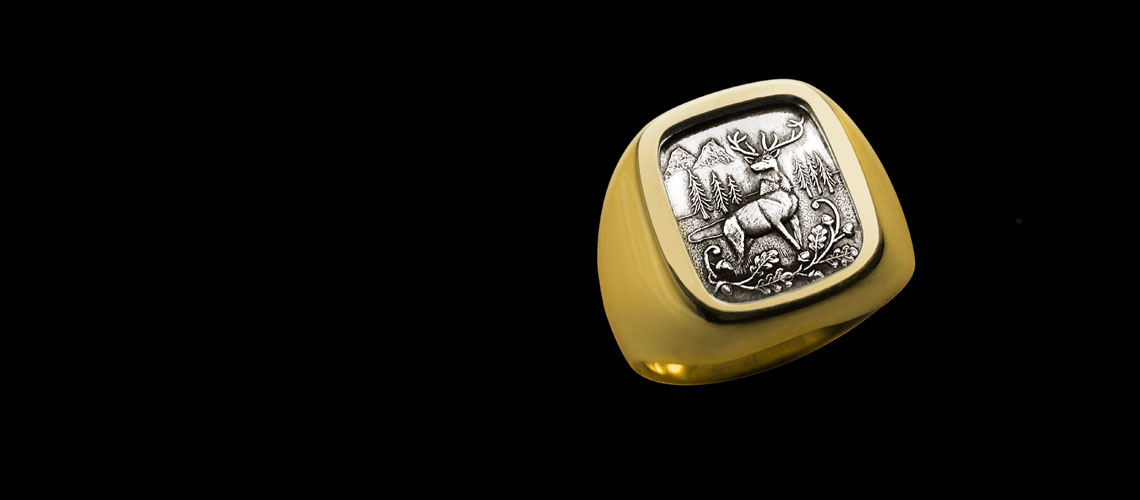 Wildlife Signet Ring