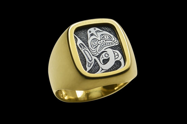 Steel Signet Ring